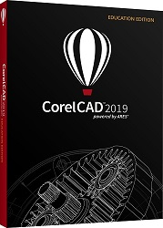 Corel CorelCAD 2019 (DVD) LARGE