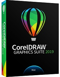 Corel CorelDRAW Graphics Suite 2019 Education Edition for Mac (DVD) LARGE