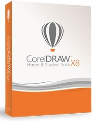 CorelDRAW Home & Student Suite X8 with FREE ClipArt Subscription