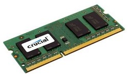 Crucial 8GB 1600Mhz DDR3 204-Pin SoDIMM SDRAM Memory Module LARGE