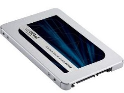 "Crucial MX500 250GB 2.5"" Internal Solid State Drive (SSD)"