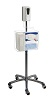 "CTA 49"" Heavy-Duty Mobile Sanitizing Station with Automatic Soap Dispenser THUMBNAIL"