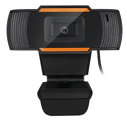 Adesso CyberTrack H2 480p USB Webcam with Built-in Microphone LARGE