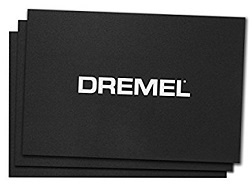 Dremel 3D40 Build Sheets (3-Pack)