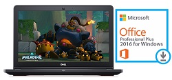 "Dell Inspiron 15-5000 15.6"" AMD A10 8GB RAM Notebook Gaming PC with MS Office Pro 2016"