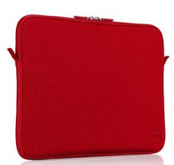 "Dell Carrying Case Sleeve for 15"" Notebooks (Red)"