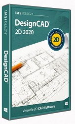 DesignCAD 2D 2020 for Windows (Download) LARGE