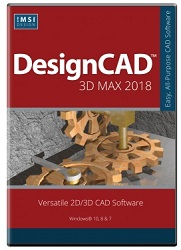 TurboCAD DesignCAD 3D Max 2018 for Windows (Electronic Software Download)