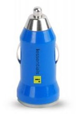 DigiPower iEssentials USB Car Charger (Blue)