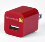 DigiPower iEssentials USB Wall Charger (Red)