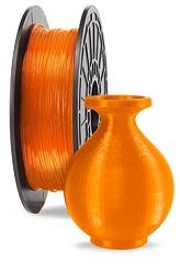 Dremel 3D Filament (PLA Electric Orange) LARGE