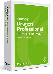 Nuance Dragon Professional Individual for Mac 6.0 Upgrade from Dragon Dictate 5.0