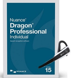 Nuance Dragon Professional Individual 15.0 Wireless Academic