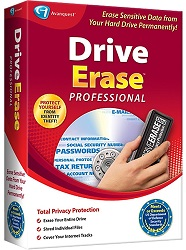 Avanquest Drive Erase Professional with FREE! Bonus Software for Windows (Download) LARGE