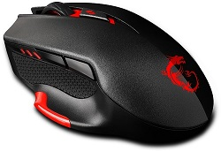 MSI Interceptor DS300 Laser Gaming Mouse (On Sale!)
