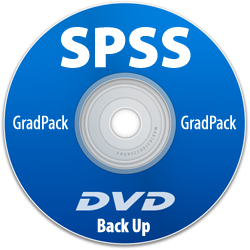IBM SPSS Statistics Base Grad Pack 25.0 Backup DVD - <i>Whats's This?</i>_LARGE