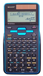 Sharp EL-W535TGBBL Scientific Calculator with WriteView
