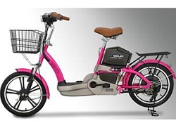 Emojo E1 Electric Bicycle Deluxe (Pink)