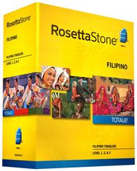 Rosetta Stone Filipino Tagalog Level 1-3 Set DOWNLOAD - WIN