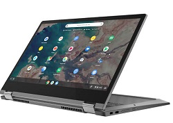 "Lenovo Chromebook Flex 5 13.3"" FHD Touchscreen Intel Celeron 4GB RAM 32GB eMMC 2-in-1 LARGE"