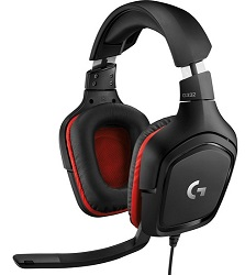 Logitech G332 Stereo Gaming Headset_LARGE