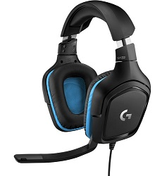 Logitech G432 7.1 Surround Sound Gaming Headset (On Sale!) LARGE