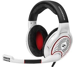 Sennheiser GAME ONE Gaming Headset (White)