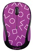 Logitech M325c Party Collection Wireless Mouse (Geo Purple) (On Sale!)