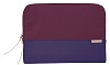 "STM Grace Laptop Sleeve for 13"" Notebooks with FREE Portable Charger (Dark Purple)"