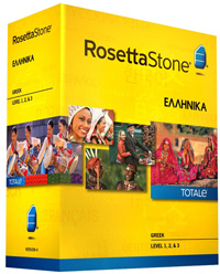 Rosetta Stone Greek Level 1-3 Set DOWNLOAD - WIN