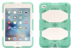 Griffin Survivor All-Terrain Case for iPad Mini 4 (Mint/White) (On Sale!)
