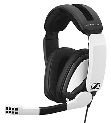 EPOS I SENNHEISER GSP 301 Wired Gaming Headset with FREE! Gaming Mouse Pad LARGE