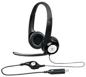 Logitech H390 USB Stereo Headset for Mac, Windows & Chrome OS LARGE