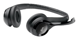 Logitech H390 USB Stereo Headset with Mic (On Sale!) LARGE