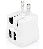Macally 15W Two USB Port Wall Charger