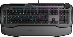 ROCCAT Horde AIMO Membrane 2.0 RGB Gaming Keyboard (Gray) LARGE