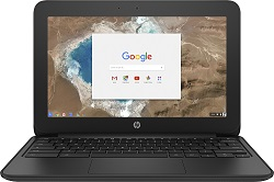"HP 11 G5 EE 11.6"" 4GB RAM MIL-STD ChromeBook PC w/Theft Mgmt Premium 5-Yr Subscription (On Sale!)"