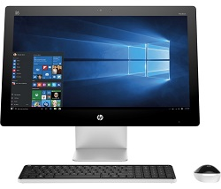 "HP 23-Q242 All-in-One 23"" AMD A6 8GB RAM Touchscreen Desktop PC with Windows 10 (Refurbished)"