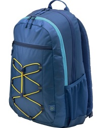 "HP Active Carrying Case Backpack for 15.6"" Notebooks (Blue/Yellow)"