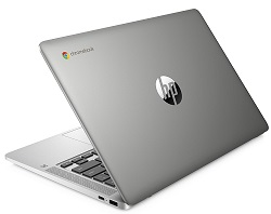 "HP Chromebook 14"" Intel Celeron 4GB RAM 32GB eMMC (Silver) LARGE"