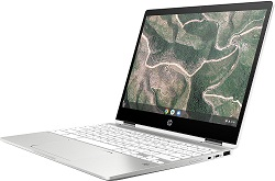 "HP Chromebook x360 12b 12"" Touchscreen Intel Celeron 4GB RAM 32GB eMMC LARGE"