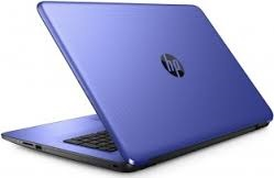 "HP 17-X010CY 17"" Intel Core i3 12GB Notebook w/MS Office 365 (Noble Blue) (Refurbished)"