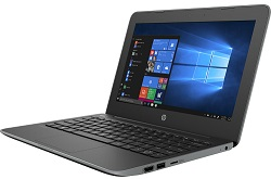 "HP Stream 11 Pro G5 Education Edition 11.6"" Intel Celeron 4GB 64GB eMMC Laptop with Windows 10 Pro LARGE"