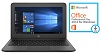 "HP Stream Pro G4 11.6"" Intel Celeron 4GB Laptop with Windows 10 Pro & MS Office Pro Plus 2016"