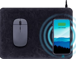 HyperGear Wireless Charging Mouse Pad LARGE