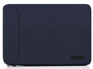 "Incipio Asher Premium Sleeve for MacBook Pro 13"" with FREE Lightning Cable (Blue)"