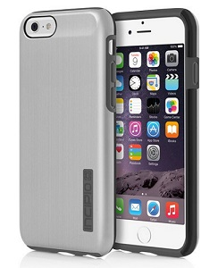 Incipio DualPro Shine Case for iPhone 6 with FREE Screen Protector (Silver/Gray)