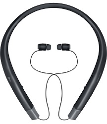 LG TONE INFINIM Wireless Bluetooth Headset (Black)