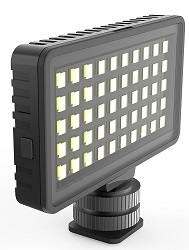 DigiPower InstaFame Super Compact 50 LEDs Video Light for Smartphones & Digital Cameras LARGE