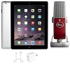 Apple iPad 4 with Retina Display 16GB Audio Studio Bundle (Black) (Refurbished)